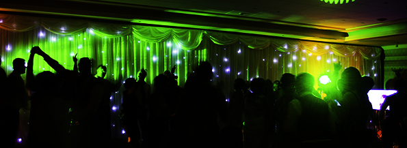 Starlight Wedding Backdrop South Wales