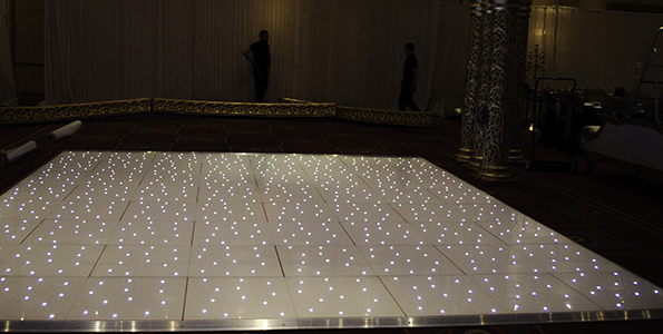 Twinkling Dance Floor Hire Cardiff