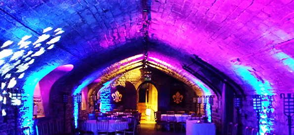 Uplighting Hire South Wales Starlight Events Outdoor Wedding Venues